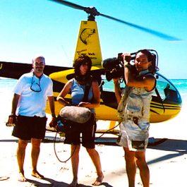 Haggerstone Island Fox Television shoot